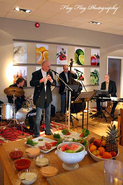 Daniel Lantz Trio with Staffan Hallgren at After Work Jazz at Hotel Uppsala. Copyright: Henrik Eriksson. The photo may not be used elsewhere without my permission.