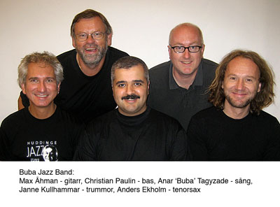 Buba Jazz Band. Promotion picture.