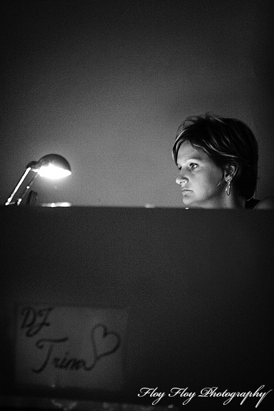 Trina Dobbs. Swing dj at Cats Corner. Copyright: Henrik Eriksson. The photo may not be published elsewhere without written permission.