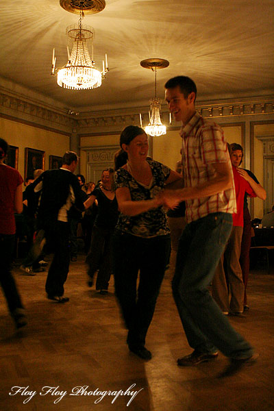 Swing dancing at Cats corner at Uplands nation in Uppsala. Copyright: Henrik Eriksson. The photo may not be used elsewhere without my permission.