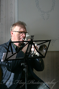 Arne Andersson (cornett). Copyright: Henrik Eriksson. The photos may not be used elsewhere without written permission.