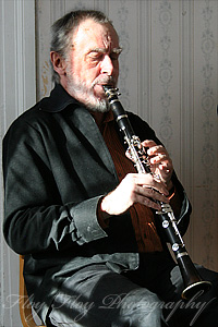 Gunnar Ekbohm (clarinet). Copyright: Henrik Eriksson. The photos may not be used elsewhere without written permission.