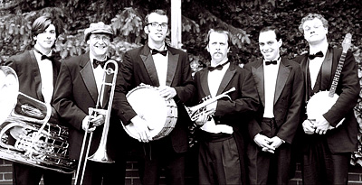 Firecracker jazz Band from Asheville, North Carolina