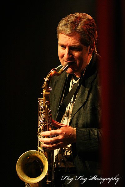 Hasse Ling (saxophone). Hasse Ling and His Syncopators of Swing. Copyright: Henrik Eriksson. The photo may not be published elsewhere without written permission.