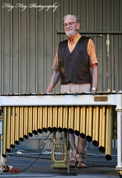 Lars Erstrand (vibraphone). Lars Erstrand Four at Parksnckan. Copyright: Henrik Eriksson. The photo may not be published elsewhere without written permission.