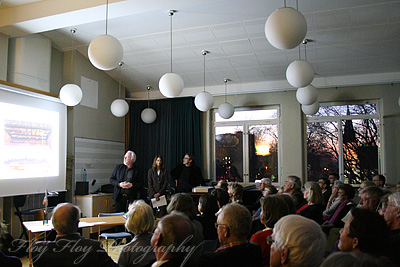 Presentation of Uppsala Konsert & Kongress. Copyright: Henrik Eriksson. The photo may not be used elsewhere without my permission.