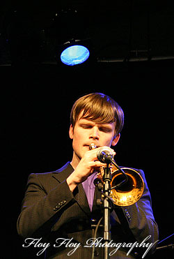 Karl Olandersson, trumpet player. Copyright: Henrik Eriksson. The photo may not be used elsewhere without my permission.