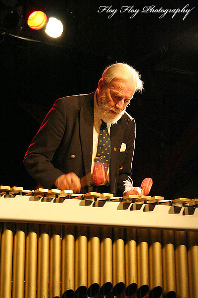 Lars Erstrand (vibraphone) played at a concert at Katalin with the Swedish Swing Society. Copyright: Henrik Eriksson. The photo may not be used elsewhere without my permission.