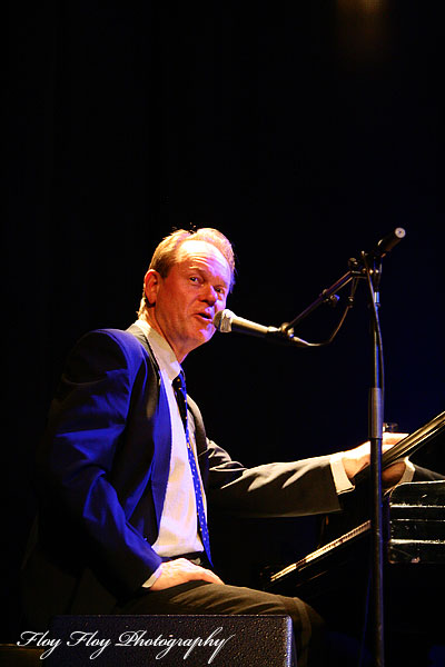 Ulf Johansson Werre (piano, trombone, composer, band leader). Copyright: Henrik Eriksson. The photo may not be published elsewhere without written permission.