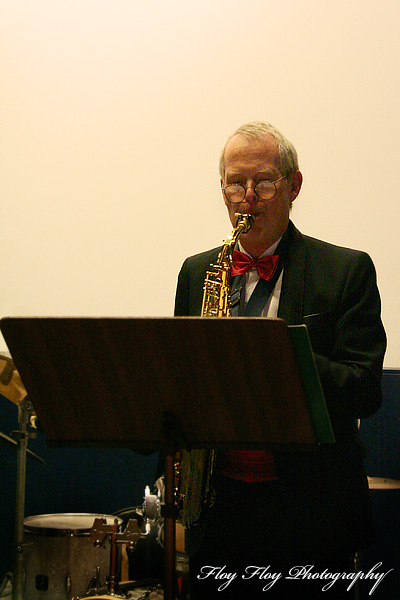 Ulf Lindsjö (saxophone). Copyright: Henrik Eriksson. The photo may not be published elsewhere without written permission.