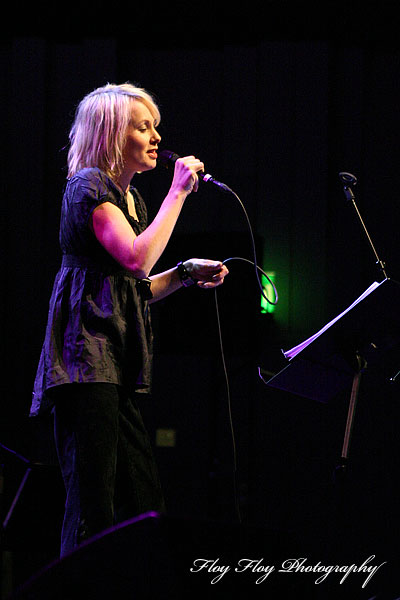 Louise Hoffsten at Great Jazz Party at Uppsala Konsert &amp; Kongress. Copyright: Henrik Eriksson. The photo may not be published elsewhere without written permission.