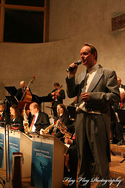 Ulf Johansson Werre. Uppsala University Jazz Orchestra. Copyright: Henrik Eriksson. The photo may not be used elsewhere without my permission.