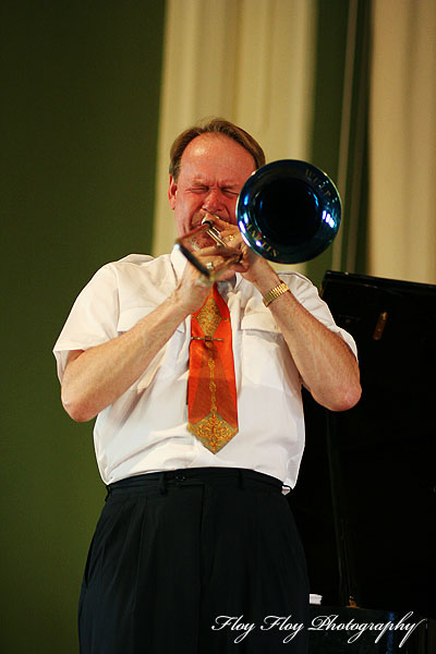Ulf Johansson Werre. Uppsala University Jazz Orchestra. Copyright: Henrik Eriksson. The photo may not be published elsewhere without written permission.