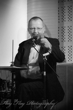 Björn Sjödin (drums). Copyright: Henrik Eriksson. The photo may not be published elsewhere without written permission.